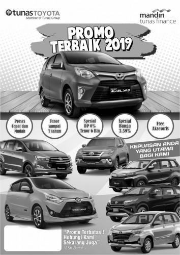 Promo Cashback Toyota 2019